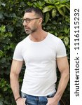 street fashion concept....   Shutterstock . vector #1116115232