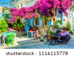 alacati  turkey   june 07  2014 ... | Shutterstock . vector #1116115778