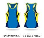 tank tops design   sleeveless   Shutterstock .eps vector #1116117062