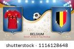 football cup 2018 world...   Shutterstock .eps vector #1116128648