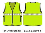 vest tang top for template   ... | Shutterstock .eps vector #1116130955