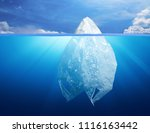 plastic bag environment... | Shutterstock . vector #1116163442