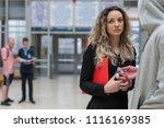 students selling drugs between... | Shutterstock . vector #1116169385