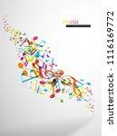 abstract music festival...   Shutterstock .eps vector #1116169772