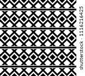 seamless ethic native geometric ...   Shutterstock .eps vector #1116216425