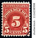 usa   circa 1930  a stamp... | Shutterstock . vector #1116238508