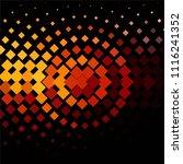 vintage halftone color texture... | Shutterstock .eps vector #1116241352