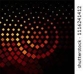 vintage halftone color texture... | Shutterstock .eps vector #1116241412