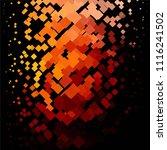 vintage halftone color texture... | Shutterstock .eps vector #1116241502