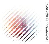 vintage halftone color texture... | Shutterstock .eps vector #1116241592