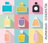 fragrance bottles aroma flavor... | Shutterstock .eps vector #1116241736