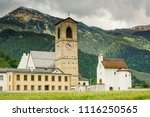 convent of st. john in mustair  ... | Shutterstock . vector #1116250565