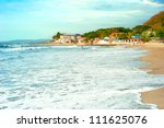 san juan  philippines   march... | Shutterstock . vector #111625076