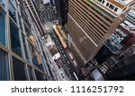 new york city 5th ave vertical... | Shutterstock . vector #1116251792