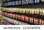 Wall Of Wooden Clogs In A Clog...