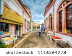 ayvalik  turkey   october 17 ... | Shutterstock . vector #1116264278