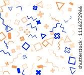 memphis background.  abstract...   Shutterstock .eps vector #1116272966