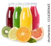juice smoothie fruit smoothies... | Shutterstock . vector #1116285665