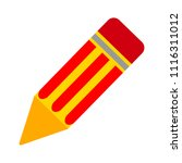 pencil sign icon   edit site... | Shutterstock .eps vector #1116311012