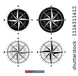 compass set. template for your...