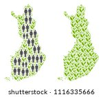 people population and grass...   Shutterstock .eps vector #1116335666