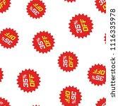 discount sticker icon seamless... | Shutterstock .eps vector #1116335978