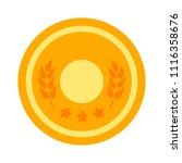 award icon. winner prize  ... | Shutterstock .eps vector #1116358676