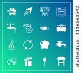 modern  simple vector icon set...   Shutterstock .eps vector #1116363542
