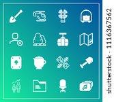 modern  simple vector icon set... | Shutterstock .eps vector #1116367562