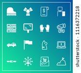 modern  simple vector icon set... | Shutterstock .eps vector #1116372218