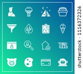 modern  simple vector icon set... | Shutterstock .eps vector #1116372326