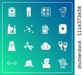 modern  simple vector icon set...   Shutterstock .eps vector #1116373658