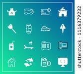 modern  simple vector icon set... | Shutterstock .eps vector #1116379232