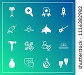 modern  simple vector icon set... | Shutterstock .eps vector #1116382982