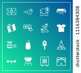 modern  simple vector icon set... | Shutterstock .eps vector #1116384308