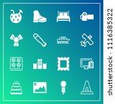 modern  simple vector icon set... | Shutterstock .eps vector #1116385322