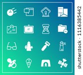 modern  simple vector icon set... | Shutterstock .eps vector #1116385442