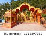 seetha amman temple is a hindu... | Shutterstock . vector #1116397382