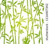 bamboo background japanese... | Shutterstock .eps vector #1116407342