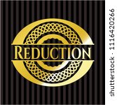 reduction shiny badge | Shutterstock .eps vector #1116420266