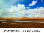 qinghai tibet plateau scenery... | Shutterstock . vector #1116428582