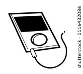 mp3 player  communication icon... | Shutterstock .eps vector #1116432086