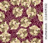 seamless pattern. heaps of... | Shutterstock .eps vector #1116439232
