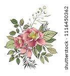 elegant card. spring decorative ...   Shutterstock .eps vector #1116450362