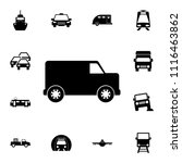 van icon. detailed set of ...