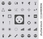 electric outlet icon. detailed... | Shutterstock .eps vector #1116480836