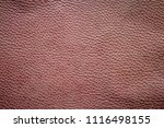 old and dirty brown leather... | Shutterstock . vector #1116498155