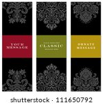 vector faded frame set. easy to ... | Shutterstock .eps vector #111650792