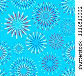 vector seamless pattern of... | Shutterstock .eps vector #1116513332