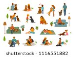 people man woman  adults and... | Shutterstock .eps vector #1116551882